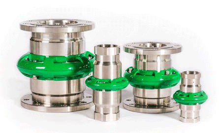 Cryogenic Break-away Couplings
